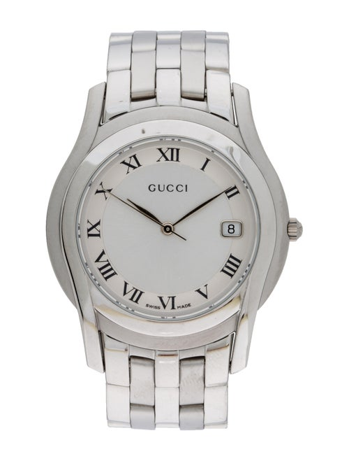 Gucci 5500 Series Watch silver