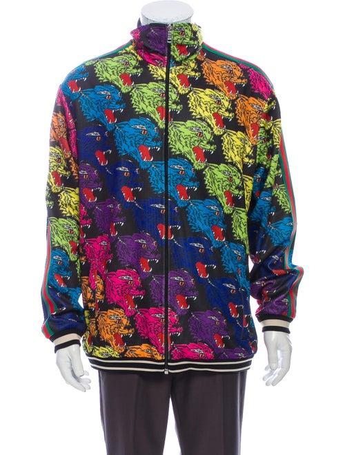 Gucci Printed Jacket Black