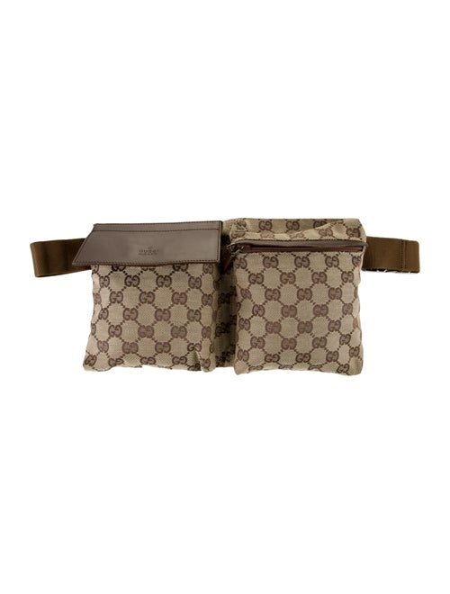 Gucci GG Canvas Belt Bag Tan