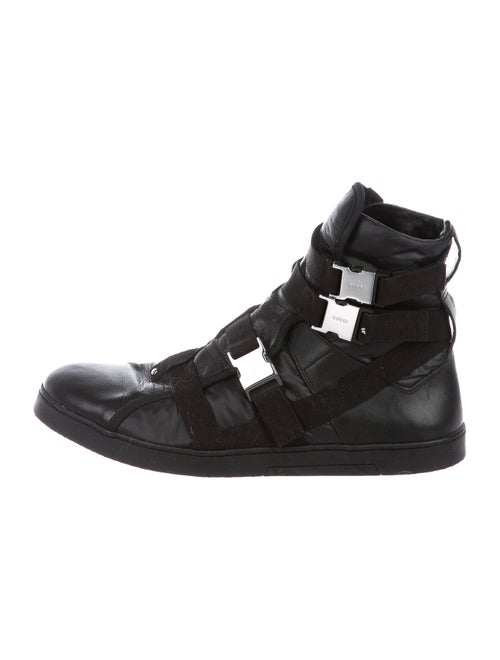 Gucci Leather Sneakers Black