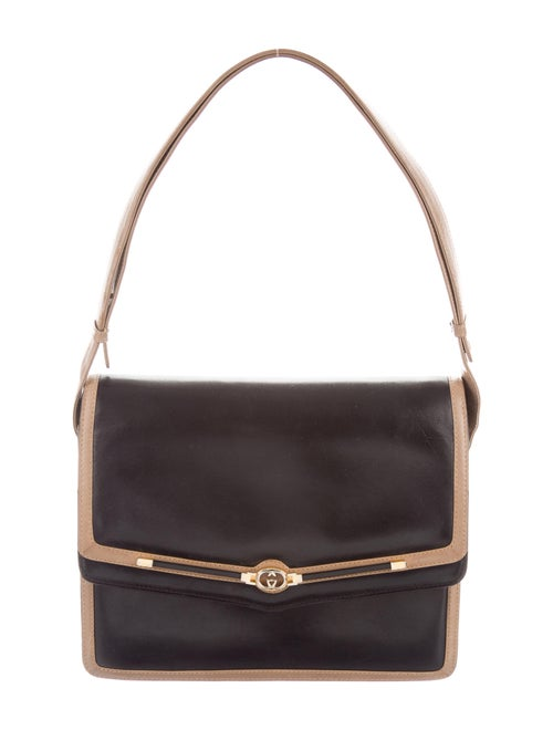 Gucci Vintage Shoulder Bag Black