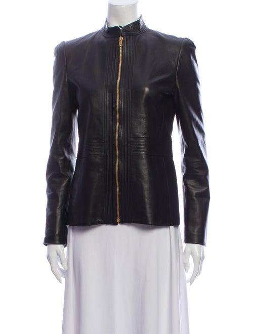 Gucci Leather Jacket Black