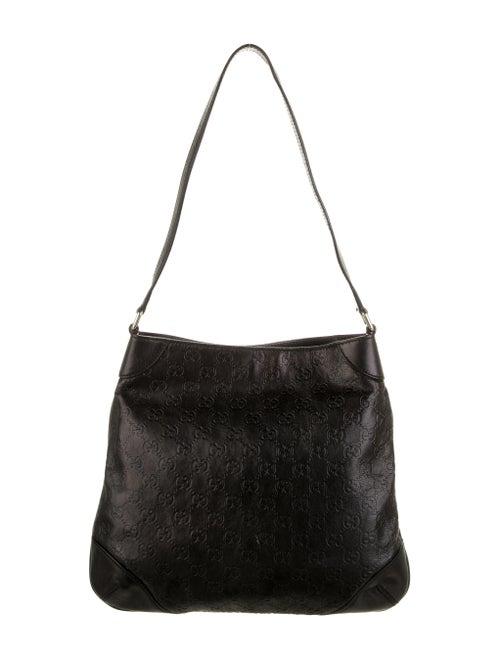 Gucci Signature Shoulder Bag Black