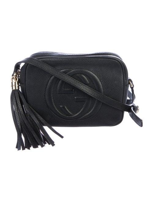 Gucci Small Soho Disco Crossbody Bag Black