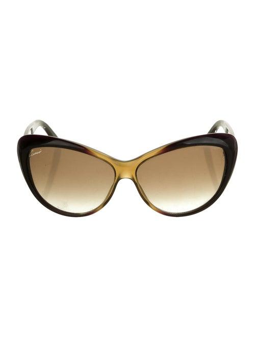 Gucci GG Cat-Eye Sunglasses Purple