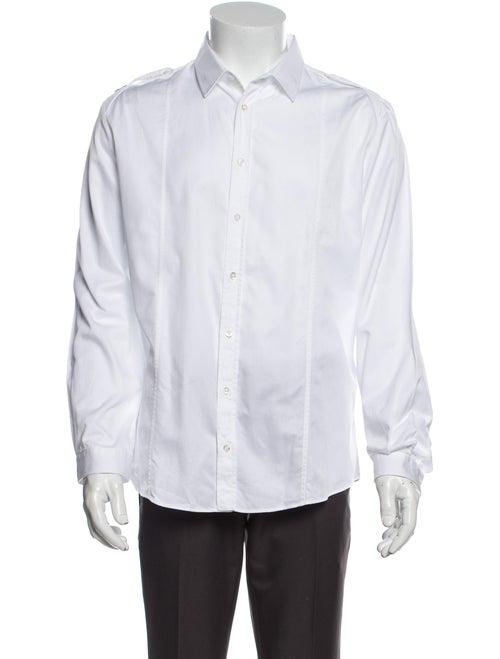 Gucci Web Accent Duke Shirt White