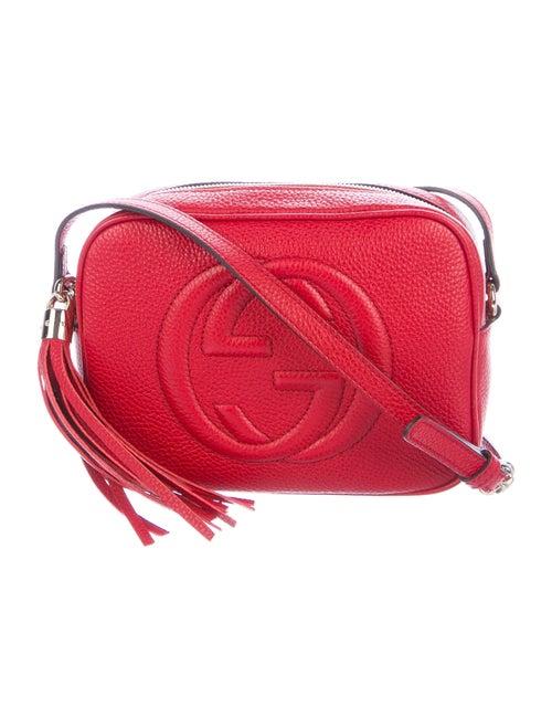Gucci Soho Disco Crossbody Bag Red