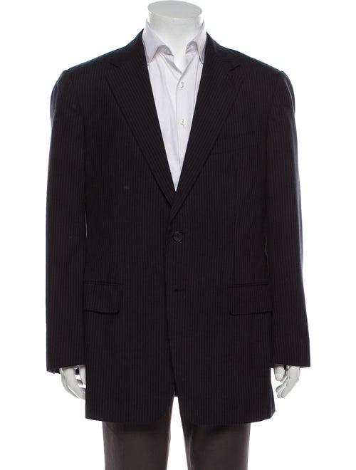 Gucci Wool Striped Blazer Wool