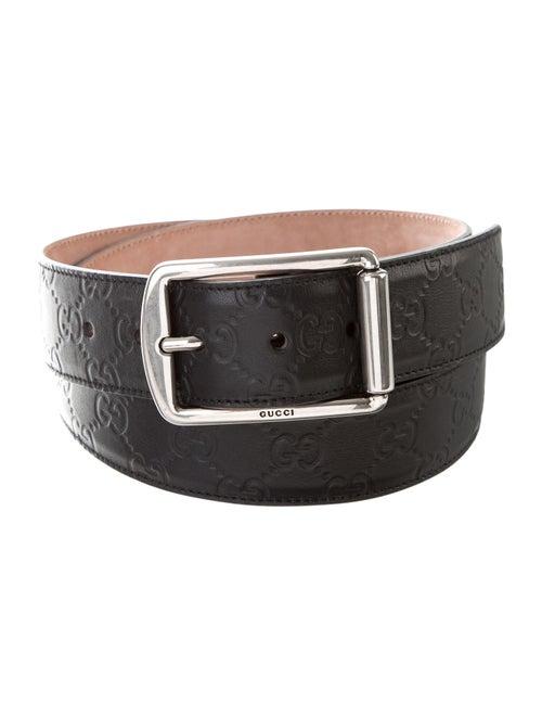 Gucci GG Signature Belt Black
