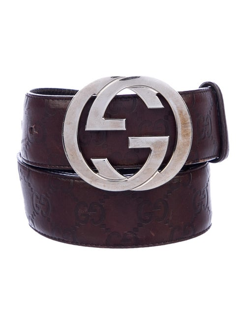 Gucci Signature GG Leather Belt