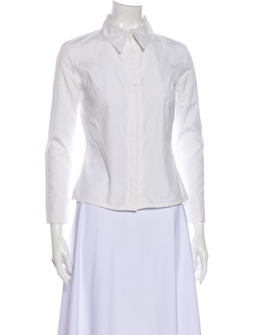 Gucci Vintage 2001 Button-Up Top White