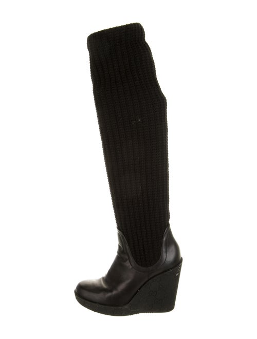 Gucci GG Signature Boots Black