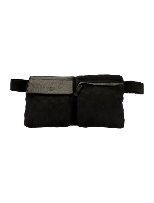 Gucci GG Canvas Belt Bag Black