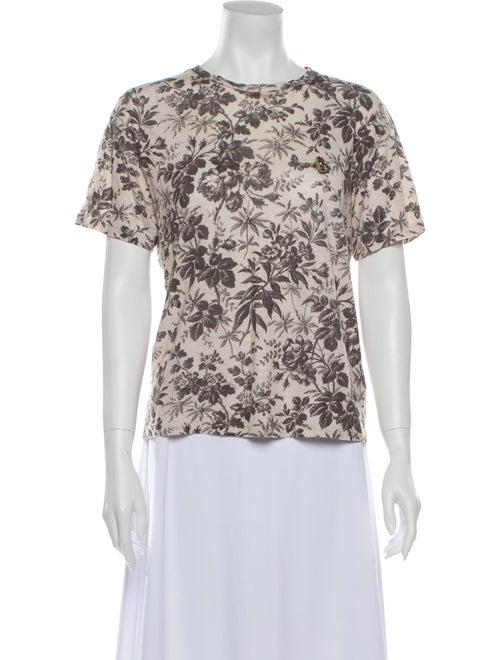 Gucci Bee Linen T-Shirt