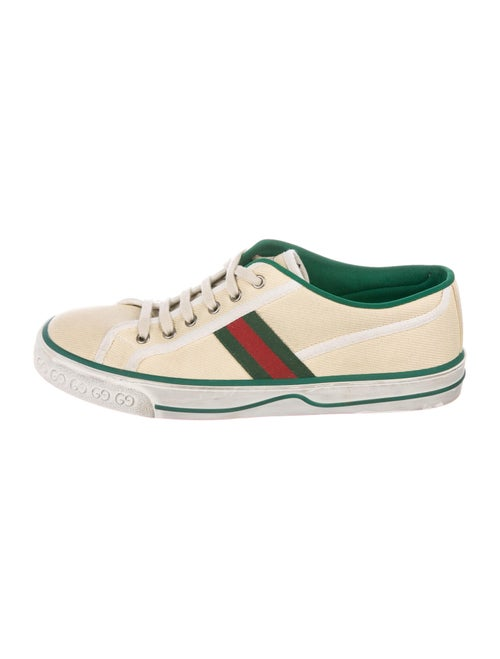 Gucci 1977 Tennis Distressed Sneakers