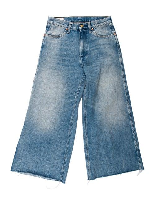 Gucci 2019 Wide Leg Jeans Blue