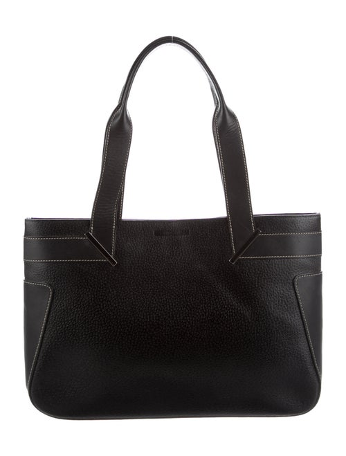 Gucci Vintage Leather Tote Black