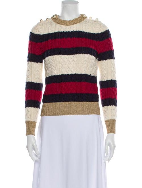 Gucci Wool Striped Sweater Wool