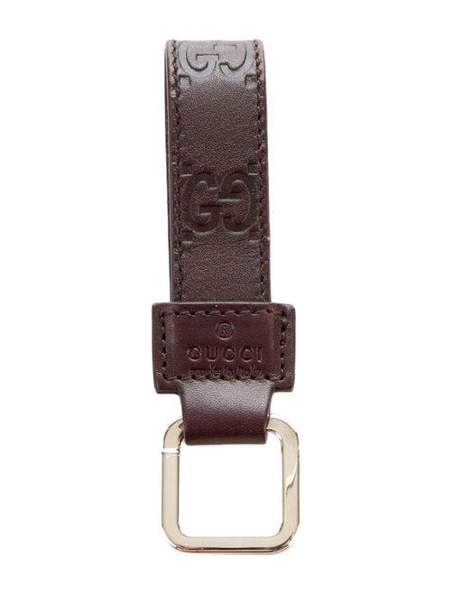 Gucci GG Signature Keychain Brown
