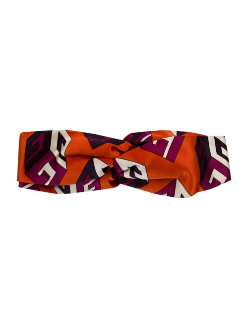Gucci Abstract Silk Headband multicolor