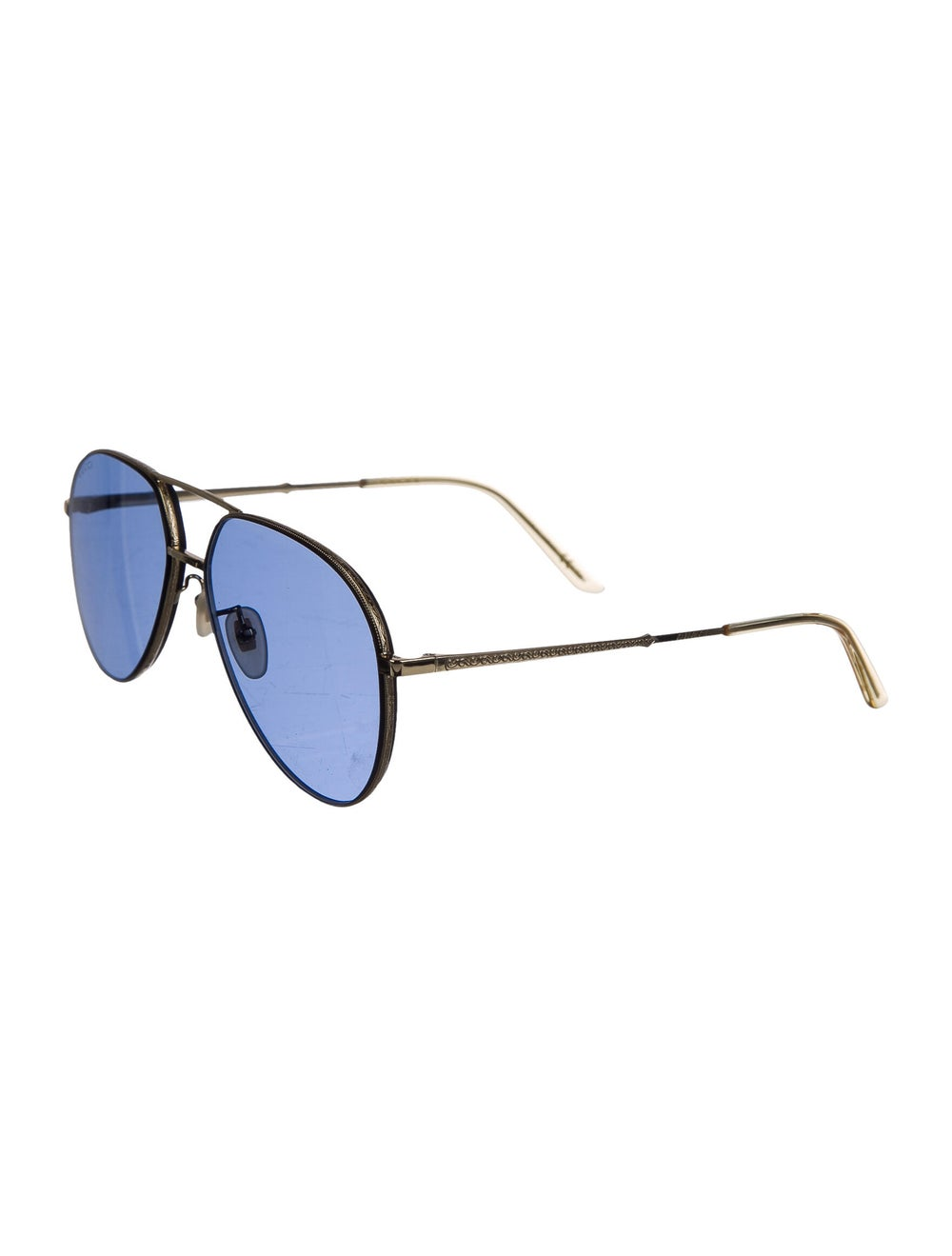 Gucci Aviator Tinted Sunglasses Gold - image 2