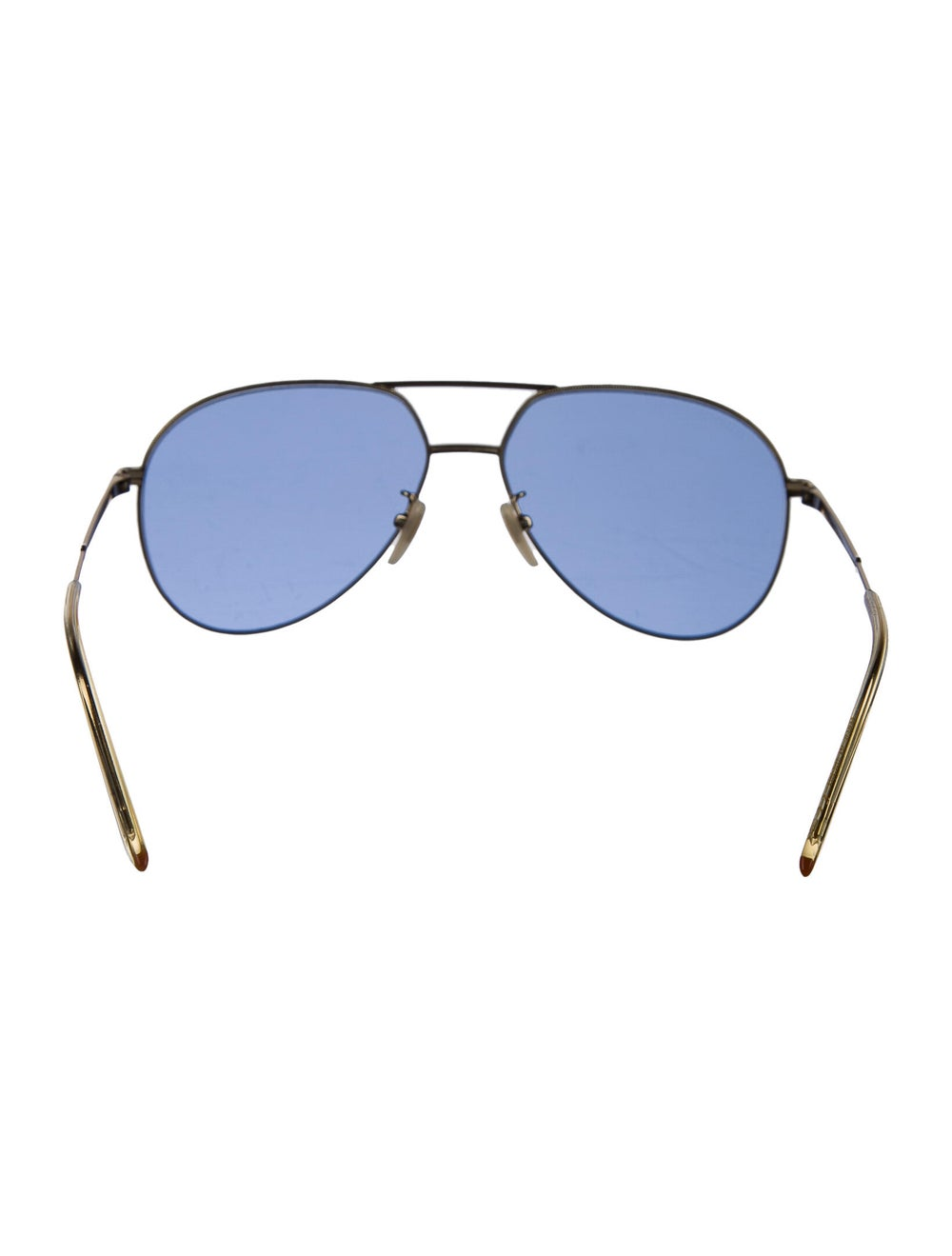 Gucci Aviator Tinted Sunglasses Gold - image 3