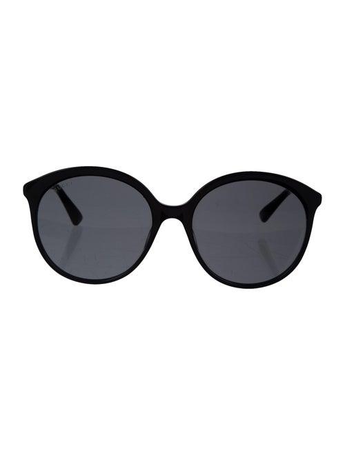 Gucci Round Tinted Sunglasses Black