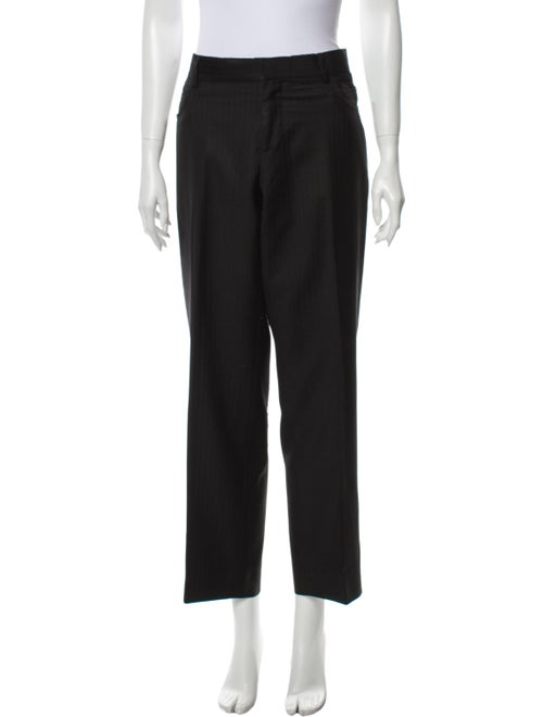 Gucci Wide Leg Pants Black