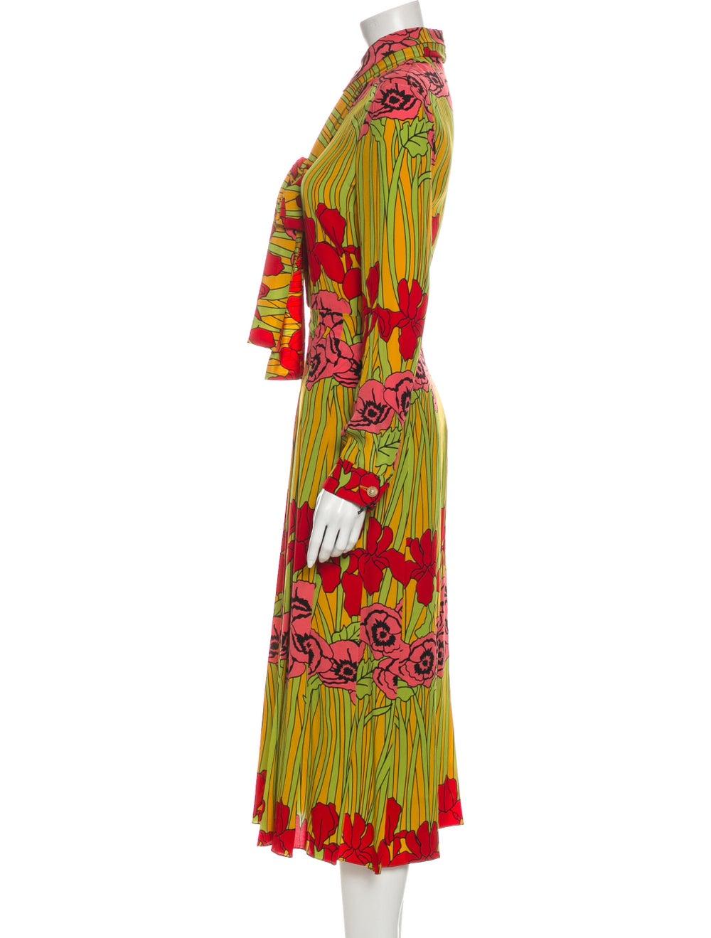Gucci 2016 Long Dress Yellow - image 2