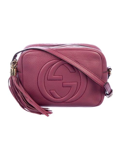 Gucci Small Soho Disco Crossbody Bag Aubergine