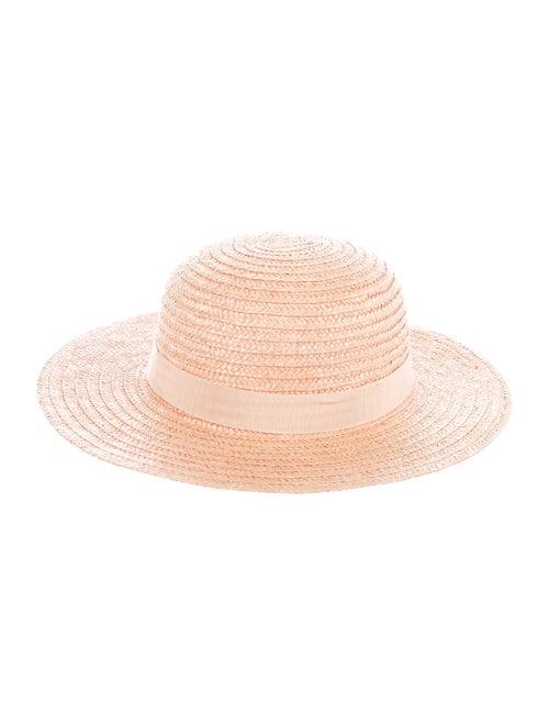 Gucci Vintage Straw Sun Hat Tan
