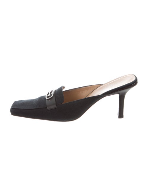 Gucci Interlocking G Logo Mules Black