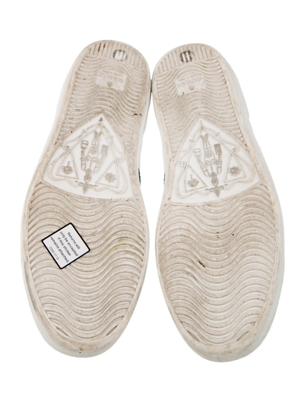 Gucci Leather Sneakers White - image 5