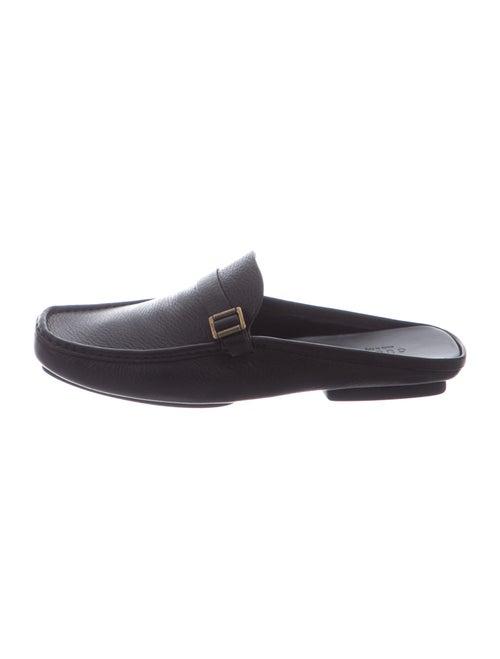 Gucci Leather Mules Black