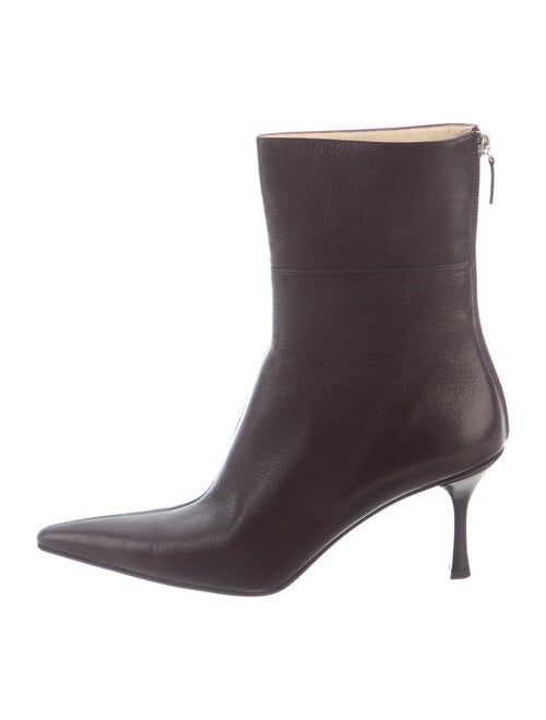 Gucci Leather Boots Brown