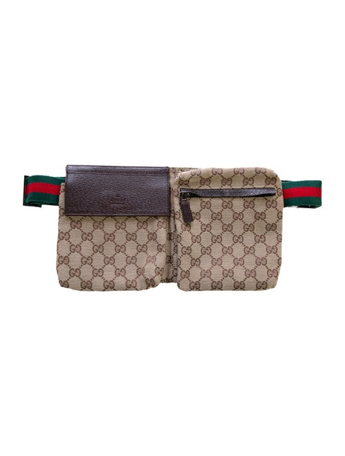 Gucci GG Canvas Belt Bag Brown