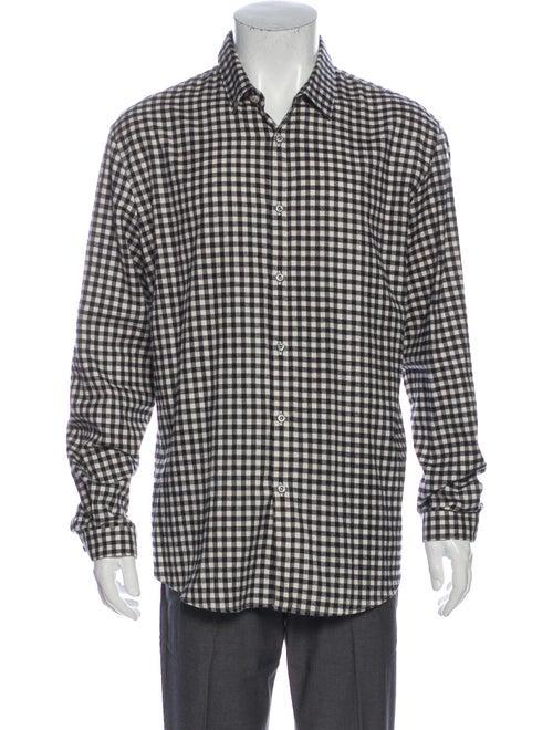 Gucci 2015 Gingham Shirt