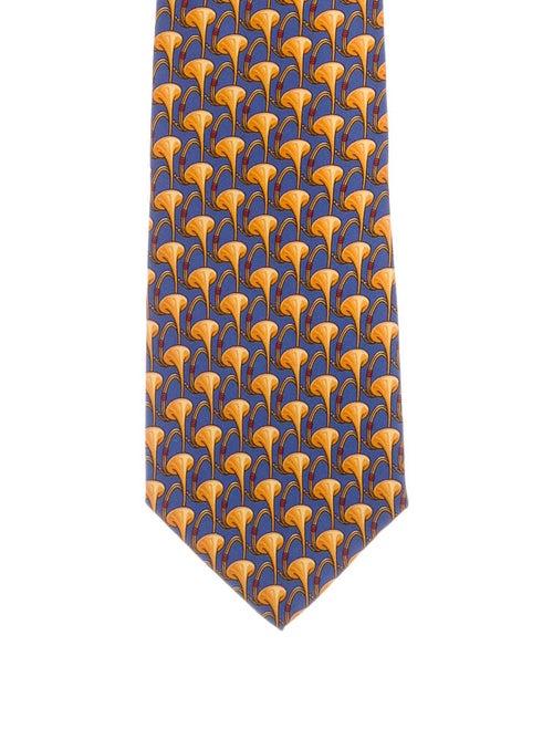 Gucci Printed Silk Tie multicolor