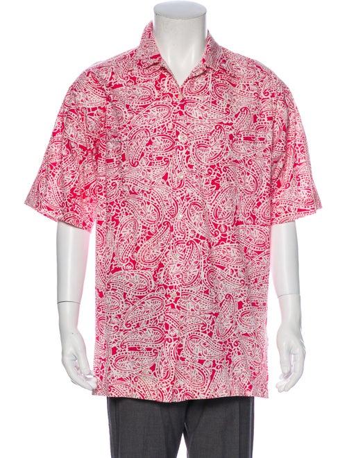 Gucci Vintage Printed Shirt Pink