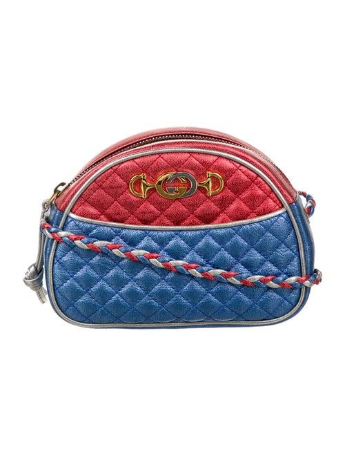 Gucci 2018 Trapuntata Mini Bag Metallic