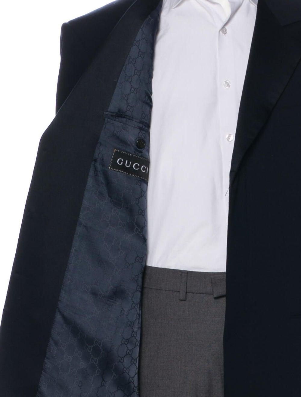 Gucci Wool Sport Coat Wool - image 4