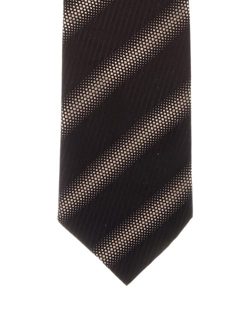 Gucci Silk Printed Tie black