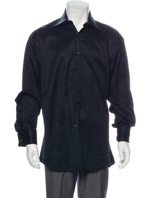 Gucci Long Sleeve Dress Shirt Black