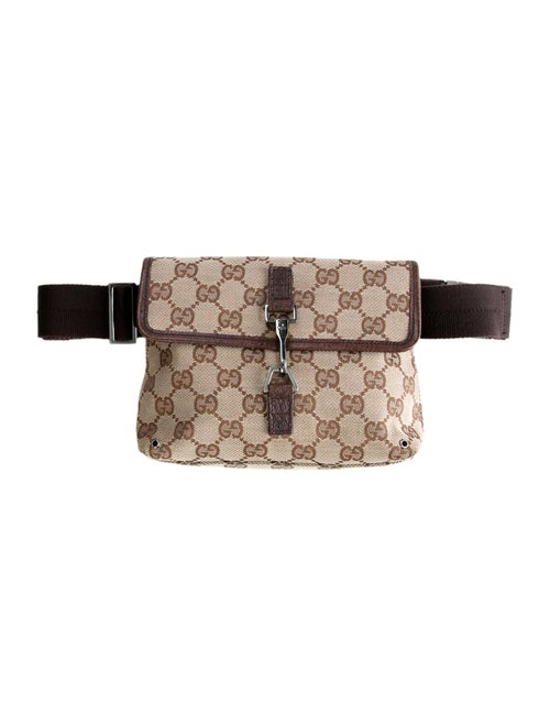 Gucci GG Canvas Belt Bag Beige