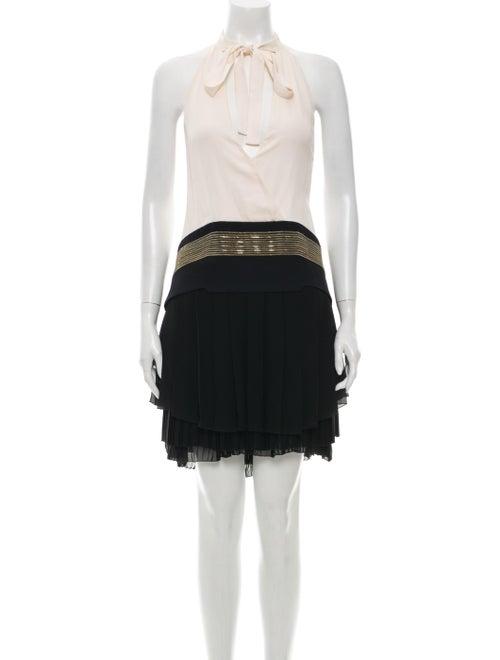 Gucci Silk Mini Dress Black