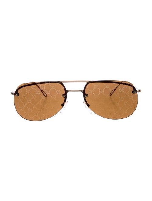 Gucci GG Aviator Sunglasses Gold