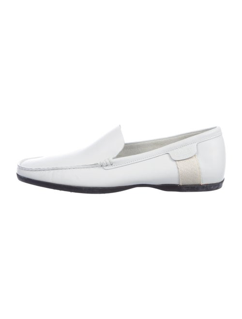 Gucci Leather Loafers White