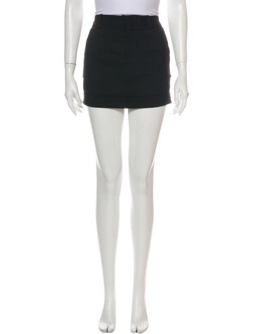 Gucci Mini Skirt Black