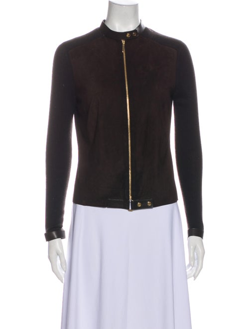 Gucci Cashmere Jacket Brown