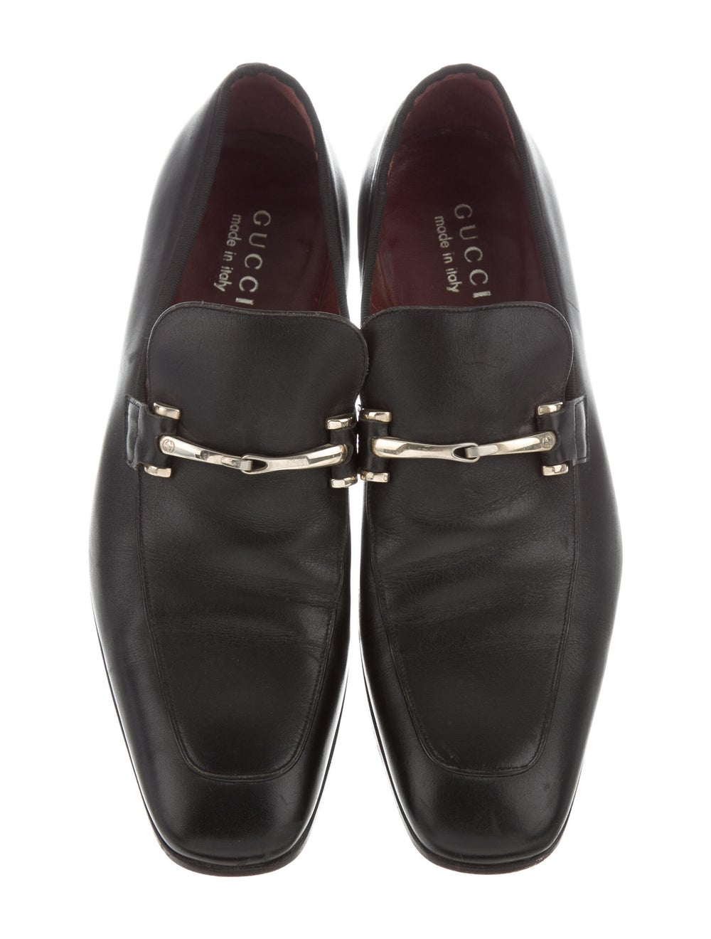 Gucci Leather Loafers Black - image 3